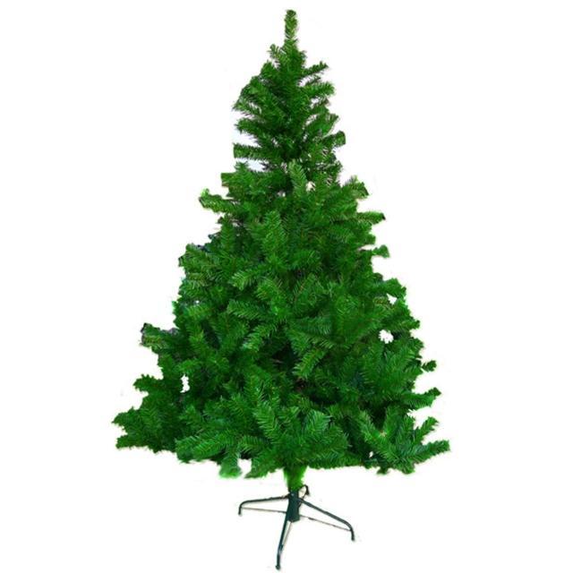 【摩達客】台灣製 8呎/8尺240cm豪華版綠聖誕樹裸樹(-不含飾品-不含燈)