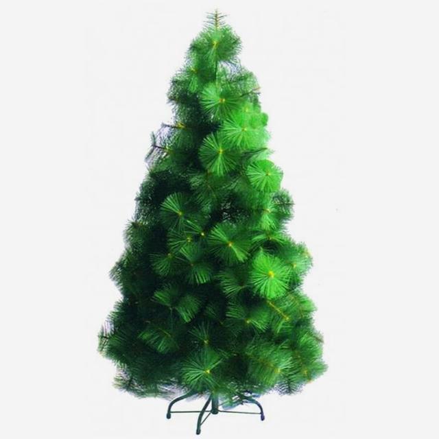 【圣诞装饰特卖】台湾制 10呎/10尺(300cm特级绿色松针叶圣诞树裸树-不含饰品(不含灯)