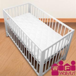 【WallyFun】嬰兒床用保潔墊-單件式 120X60CM(★台灣製造 採用遠東紡織聚酯棉★)
