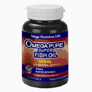 【美國進口 營養生活】精純鮭魚油膠囊(2入)