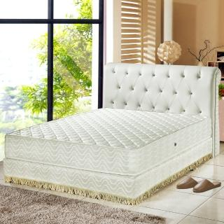 【睡芝寶】飯店用-暖暖羊毛3M防潑水獨立筒床墊(雙人)