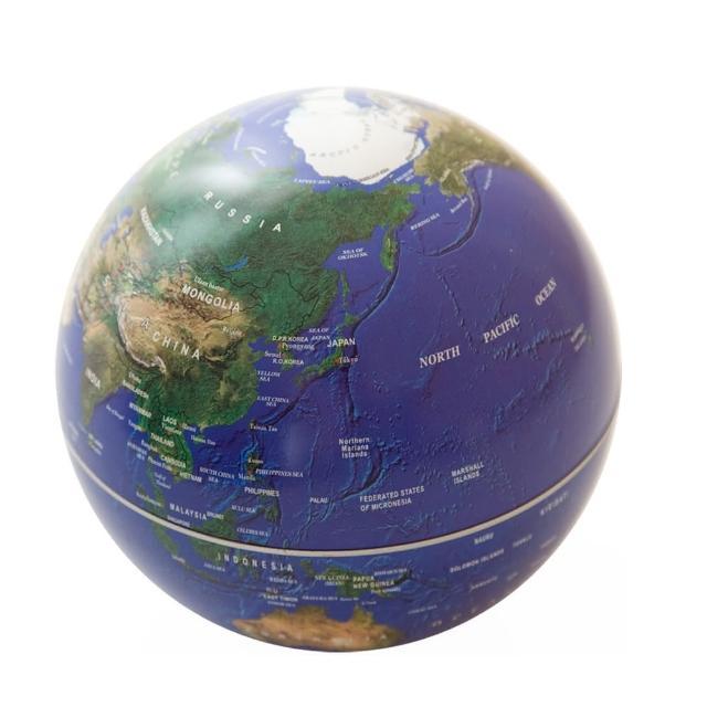 【賽先生科學】自轉地球儀(地球藍)