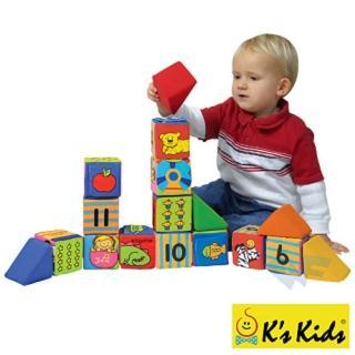 【Ks Kids】多功能數學遊戲積木組(肢體發展系列)