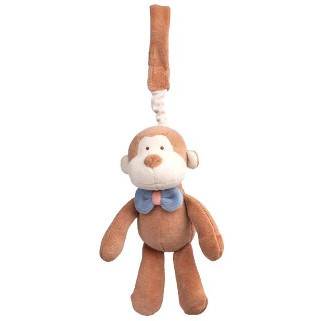 【美國miYim】有機棉推車吊掛娃娃(布布小猴)