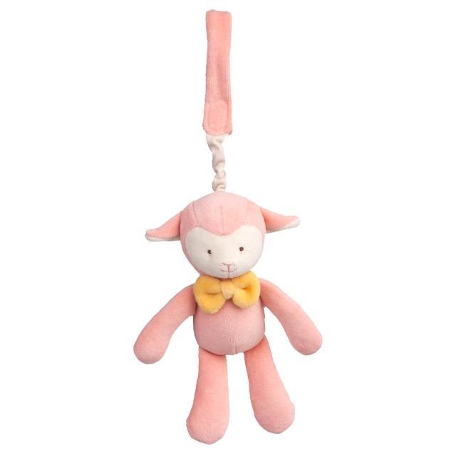 【美國miYim】有機棉吊掛娃娃(亮寶羊羊)