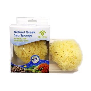 【希臘BIOESTI】地中海天然海綿 沐浴用(4-4.5吋2入組)