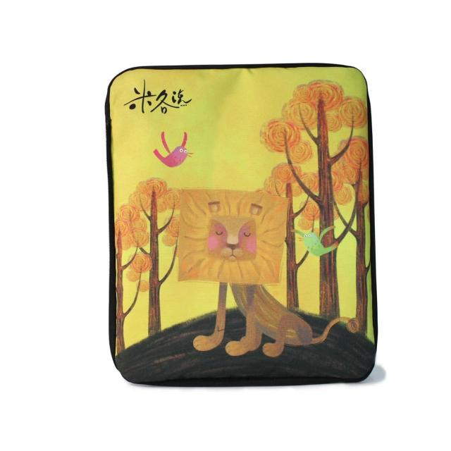 【NETSTYLER 自格包】米各說-方頭獅系列-我是方頭獅(MeenaRL 米娜互換片)
