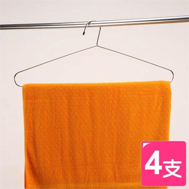 【皇家拿鐵】超大型不鏽鋼衣架(4入)