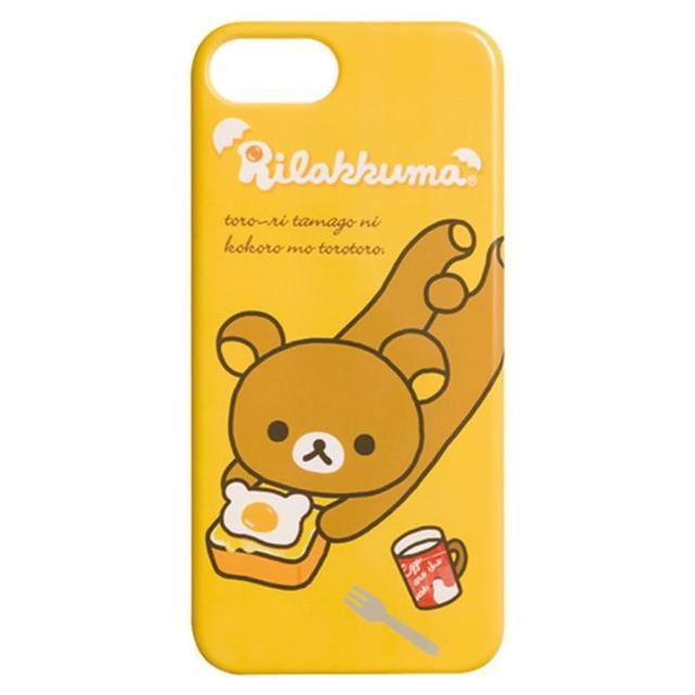 【San-X】San-X 懶熊 iPhone 5 手機保護殼。荷包蛋咕咕雞