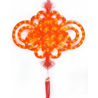 【農曆春節特選】大中國結LED燈串吊飾(附控制器)