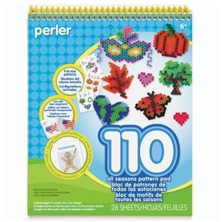 【Perler 拼拼豆豆】一比一造型圖案創意拼豆書(第三彈)