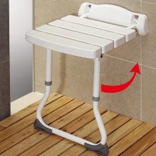 【COLOR】壁式安全附腳洗澡椅(抗菌防霉)