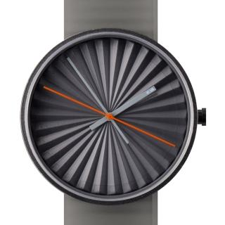 【NAVA DESIGN】Plicate watch 摺扇美學時尚腕錶-灰(O460GR)