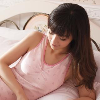 【華歌爾】睡眠胸罩印花款 M-LL睡眠蘭姿(玫瑰粉)