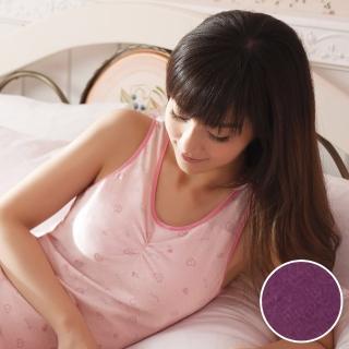 【華歌爾】睡眠胸罩印花款 M-LL睡眠蘭姿(星空紫)