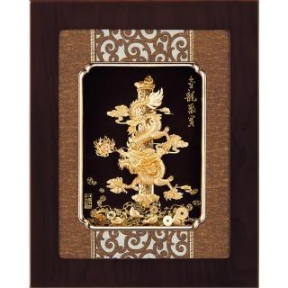 【開運陶源】金箔畫 純金 *古典中國風系列*牡丹(花開富貴....27x34cm)