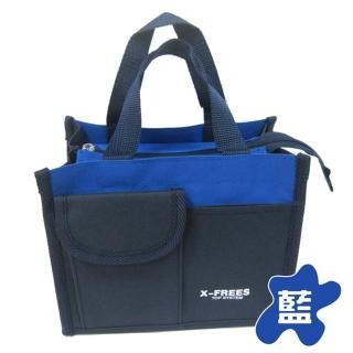 【臺灣製造】X-FREES便當袋/手提袋-中-3入