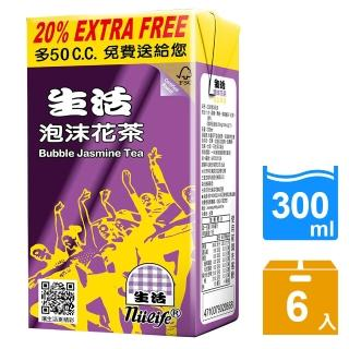 【生活】泡沫花茶300ml(6入/組)