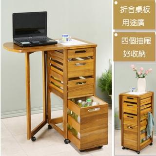 【C&B】日式鄉村風折合餐桌蔬果櫃