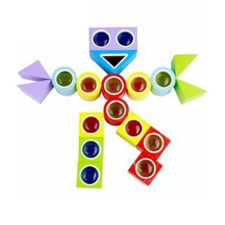 【ω-o2d】MingTa萬花筒積木(兒童教育玩具)