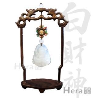 Hera藏傳化煞白財神迎財擺件