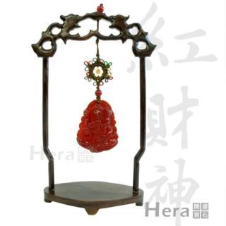 Hera藏傳人氣紅財神迎財擺件