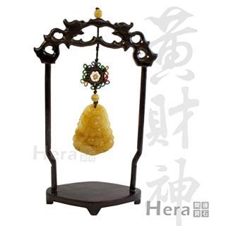 Hera藏傳財富黃財神迎財擺件