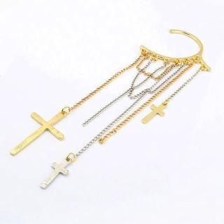 【Lady c.c.】虔誠十字造型精典耳環