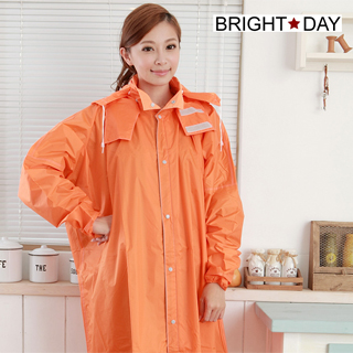 【BrightDay君邁雨衣】AQUA前開款╭加贈輕巧雨鞋套!(機車雨衣、戶外雨衣)