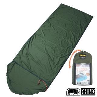 【RHINO 犀牛】多用途睡袋內套(隨機色-2入)