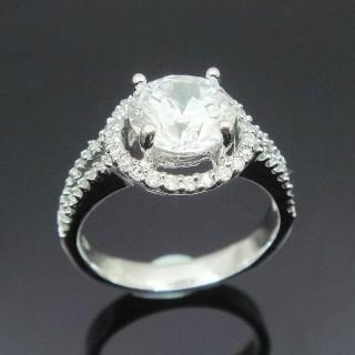 【Celosa名品-】動人晶鑽戒指