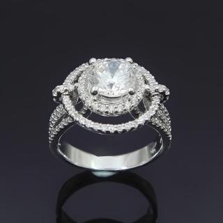 【Celosa名品-】繁星晶鑽戒指