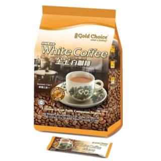 【金寶-馬來西亞暢銷品牌】白咖啡-黃砂糖(35gx15小包)