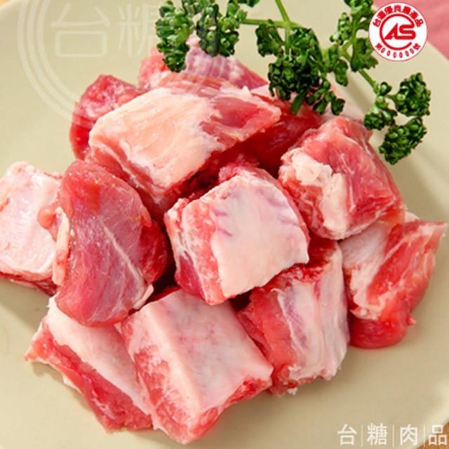 【台糖】豬小排肉4盒(600g/盒)