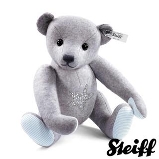 【STEIFF德國金耳釦泰迪熊】施華洛世奇水鑽泰迪熊 32cm(精選限量版)