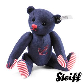 【STEIFF德國金耳釦泰迪熊】施華洛世奇水鑽泰迪熊 17cm(精選限量版)