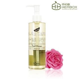 【Herbox 荷柏園】阿拉伯薔薇潔顏油 250ml(Taif Rose Cleansing Oil)
