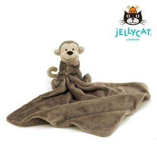 【英國 JELLYCAT】經典猴子造型安撫巾(約33*33公分)