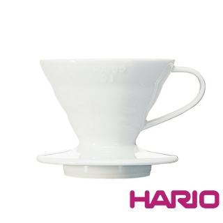 【HARIO】V60白色01磁石濾杯(VDC-01W)
