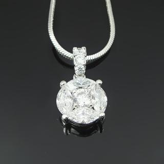 【Celosa珠寶】-珍愛晶鑽墜鍊