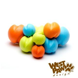 ~美國West Paw~Jive耐咬玩具球~2吋^(4色^)