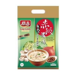 【廣吉】赤阪濃湯-納豆蕈菇(20g x 10小包)