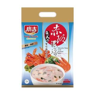 【廣吉】赤阪濃湯-蟹肉海鮮味噌(20g x 10小包)