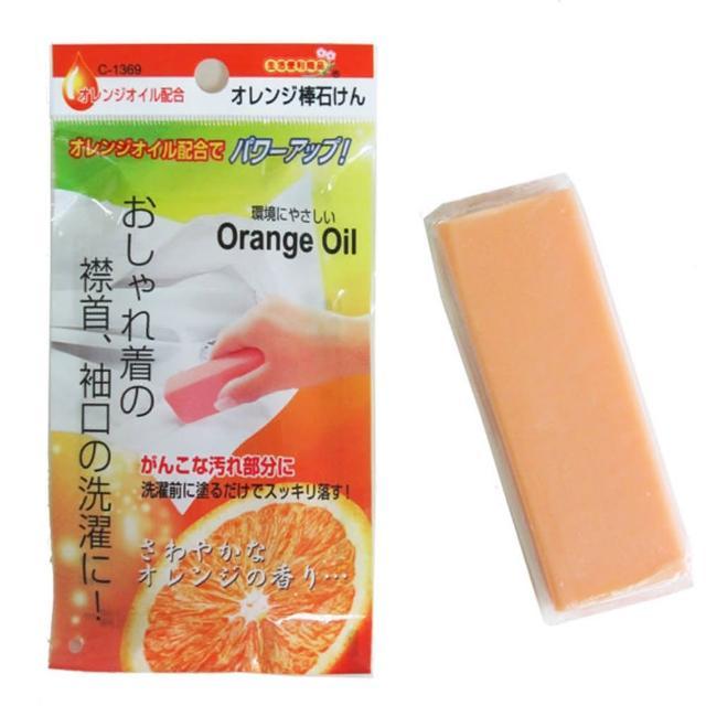 【日本製】天然橘子油去污皂-10入
