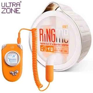 【美國Ultrazone】Ring Me 情慾熱線 5段變頻跳蛋-12hr(橘)