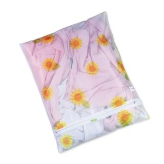 【UdiLife】花漾細網洗衣袋角型-50x60cm-6入組