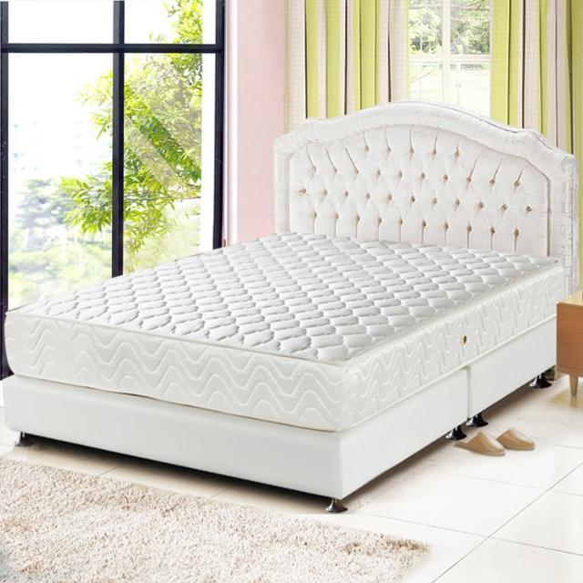 【睡芝寶】乳膠3M防潑水透氣涼蓆護背床墊(雙人加大6尺)