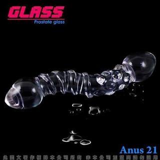 【香港VenusGLASS】直搗鳳穴-玻璃水晶後庭冰火棒Anus 21