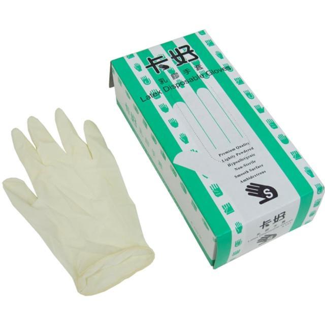【卡好】乳膠超薄手套-100入×3盒