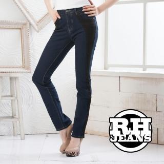 【RH】真褲頭修身比例剪裁牛仔長褲(星空藍S-M-L-XL最後數量)
